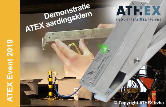 ATEX Event demonstreert aardingscontrole